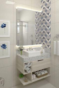 Home Room Design, Home Design Decor, Home Decor Trends, Decor Ideas, Bathroom Design Luxury, Modern Bathroom Design, Toilette Design, Washbasin Design, Bad Inspiration