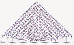 MATERIALES: 100 g de fibra acrílica semigorda en color estampado en color violeta, bordó y verde agua; Aguja para crochet nº 4; Aguja p...