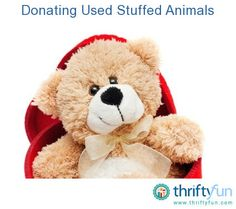 This guide is about donating used stuffed animals. It's good to give those extra stuffed friends a new purpose for someone who may need a buddy to hold.