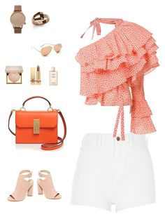 """Untitled #58"" by cristinestyle on Polyvore featuring River Island, Rosie Assoulin, Flynn, Kendall + Kylie, Linda Farrow, Komono, WiseWear, Stila, Yves Saint Laurent and Chanel"