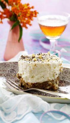 Cheesecake med citron og lakrids