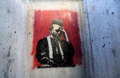 """""""Better Out Than In"""" nannte der berühmte britische Straßenkünstler das Projekt und beschrieb es als einmonatigen Künstleraufenthalt auf den Straßen von New York."""