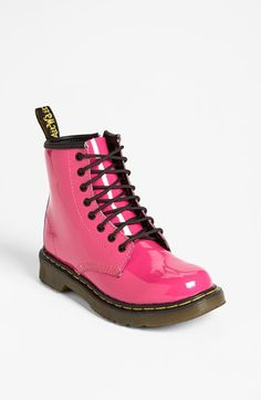 Hopefully Santa will get these for Sofia this year. Dr. Martens Boot (Toddler & Little Kid) available at #Nordstrom