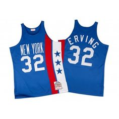 75fd91706d1e1 Julius Erving Authentic Jersey New York Nets Mitchell   Ness Nostalgia Co.