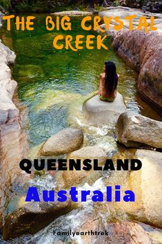 Have a break at the beautiful and peaceful Big crystal creek in Queensland not far from Townsville, Australia. Visit Australia, Queensland Australia, Australia Travel, South Australia, Saltwater Crocodile, Coral Garden, Airlie Beach, Dream City, Picnic Area