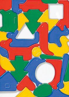 色彩構成解答例06|多摩美術大学 生産デザイン学科プロダクトデザイン専攻