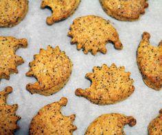 Celozrnné sušenky s mákem a pálivou paprikou