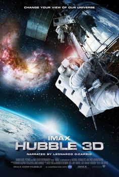 Directed by Toni Myers. With Leonardo DiCaprio, K. Megan McArthur, Scott D. Altman, Andrew J. An IMAX camera chronicles the effort of 7 astronauts aboard the Space Shuttle Atlantis to repair the Hubble Space Telescope. Leonardo Dicaprio Movies, Site Pour Film, Films Hd, 3d Camera, Film Streaming Vf, Version Francaise, Hubble Space Telescope, To Infinity And Beyond, Space Travel