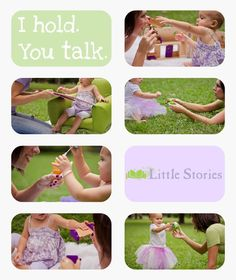 I Hold, You Talk Technique | Little Stories | Early Speech & Language Development