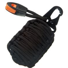 Paracord Grenade Suvival Kit - 18 IN 1 Tactical Gear - Fishing Bag with 550 Parachute Cord 150db Emergency Whistle - Carabiner Upgraded With a Military Grade Snap Hook -- This is an Amazon Affiliate link. For more information, visit image link.