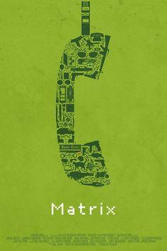 Posters minimalistas de clássicos do cinema