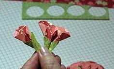 Dahlia Fold Tutorial - Splitcoaststampers