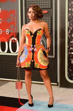 Kat Graham Photos - 2015 MTV Video Music Awards - Arrivals - Zimbio