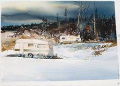 Lars Lerin. Winter landscape, Skymnäshagen