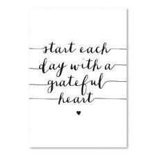 Start Each Day Wall Decor