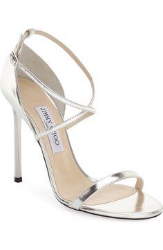 0a58a7edc0f Jimmy Choo Hesper Ankle Strap Sandal  http   www.stylemepretty.com