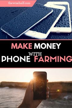 Get paid to make money with phone farming, through legitimate passive apps