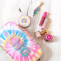 """Stoney Clover Lane on Instagram: """"Dreamiest color combo 🥰"""" Vsco Pictures, Kawaii Accessories, Stony, Color Combos, Preppy, Coin Purse, Patches, Skincare, Teen"""