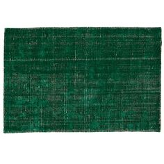 Shop 4 x 6' Patina Rug.  Our handcrafted Patina Rug will give your décor a polished look.  Available in green or blue, its smooth feel and subtle sheen make it perfect for a bedroom or living room.
