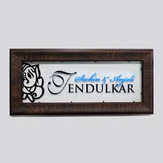 Engrave offers you India's largest collection of acrylic name plates designs online. With name plate designs, we've served more than 1 lac+ homes across 250 cities in India. Wooden Name Plates, Door Name Plates, Name Plates For Home, Diy Exterior, Exterior Colors, Exterior Signage, Acrylic Furniture, Furniture Decor, Bedroom Furniture