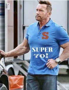 Arnold Schwarzenegger Super Fit At 70