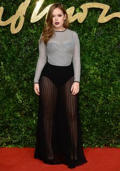 Tanya Burr aux British Fashion Awards 2015