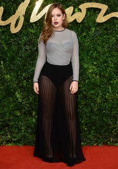 Tanya Burr aux British Fashion Awards 2015