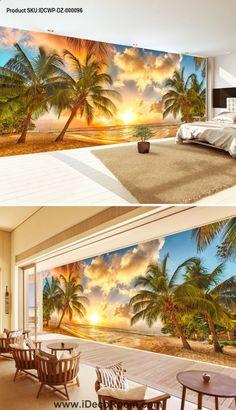 Fondo de pantalla de Sunrise Seascape Coco IDCWP-DZ-000096