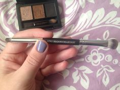 #septemberglambag, #ipsy, Crown Brush: AC102 Shadow/Crease Duet... So soft! I love this brush, especially because it is all I need for my eyes when packing a make-up to-go bag. A soft blender and detailed crease tip (which even blends eyeliner to eyeshadow smoothly, see this glam bag's other posts). I highly recommend! Would definitely look at buying more brushes from this company.  Check out my Review and Revery board for a specific pin on products separately with a detailed review of each.