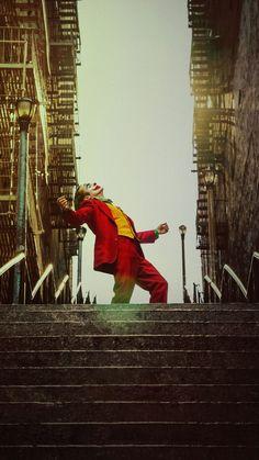 Joker, 2019 movie, red suit, poster, 2160x3840 wallpaper