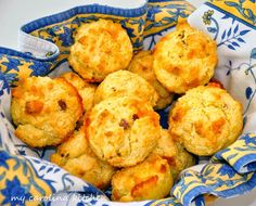 My Carolina Kitchen: Hearty Ham and Cheese Muffins for On-the-go Breakf...