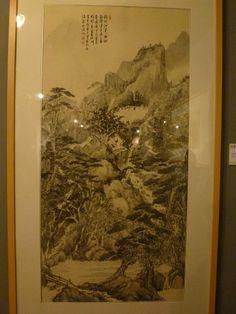 Chinese Ink Painting with Hakka Theme Beautiful Hakka, Hakka Culture exhibition at Shenzhen Museum. Venue: Shenzhen Museum Date: 2013.12.08 – 2013.12.15 beautiful-hakka-at-shenzhen-museum-070