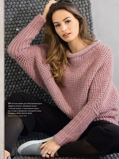 Free and Crochet Sweater Pattern For This Year of Best 2020 Part 44 ; knitting sweaters for beginners; Crochet Cardigan, Knit Crochet, Big Knits, Knitting Patterns, Sweater Patterns, Free Knitting, Knitwear, Couture, Clothes