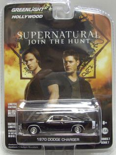 GREENLIGHT COLLECTIBLES HOLLYWOOD SERIES 7: SUPERNATURAL 1970 DODGE CHARGER 1:64 #GreenLight #Dodge
