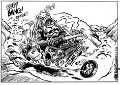 Are the wheels falling off for Zuma? Mark Wiggett [ Herald Port Elizabeth] thinks so.