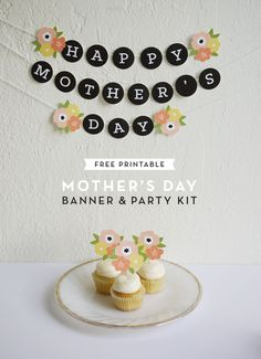 Printable Mother's Day Banner & Party Kit
