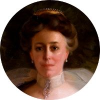 """Helen Louise Herron """"Nellie"""" Taft was the wife of William Howard Taft and First Lady of the United States from 1909 to William Howard Taft, Edwardian Gowns, Behind Every Great Man, Presidents Wives, University Of Cincinnati, Great Women, Family History, Style Icons"""