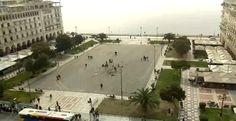 Η ωραιότερη πλατεία της χώρας σε απευθείας μετάδοση