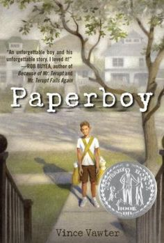 Paperboy.  Story of a boy with a stutter who takes on a paper route and much more.