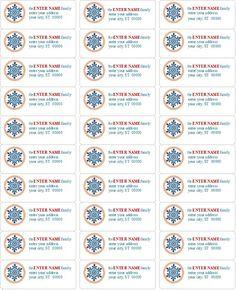 free printable christmas labels templates christmas address labels