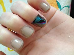 Used the marble nail tutorial on youtube and it worked so well!