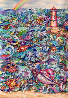 Coloured By Helen Elliston.