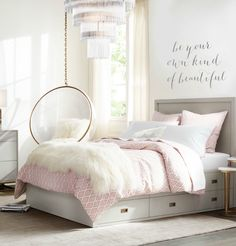 Teen girl bedrooms, jump to this reference for a complete superb teen girl room makeover, make-over number 3958521679 Cute Teen Bedrooms, Teenage Girl Bedroom Designs, Girls Room Design, Kid Bedrooms, Bedroom Girls, Pb Teen Rooms, Colorful Teen Bedrooms, Design Bedroom, Vintage Teen Bedrooms