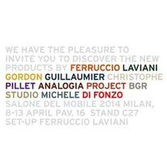 SALONE INTERNAZIONALE DEL MOBILE MILANO 8   13 APRILE 2014 PADIGLIONE 16 STAND C27