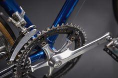 Gipiemme Sprint engraved with Francesco Moser on Francesco Moser cromovelato