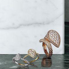 af4e7d08b07f Boucheron - Serpent Bohème rings Ювелирные Украшения, Кольца, Золото
