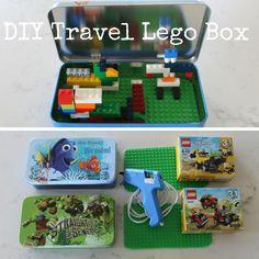 DIY Travel Lego Tin
