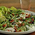 Quelle influence a ce temps pourri sur votre appétit et sur vos menus ? Moi, je n'ai pas (plus) envie de plats chauds longuement mitonnés....