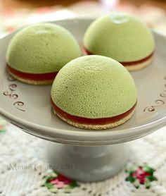 Maccha Mousse Cake