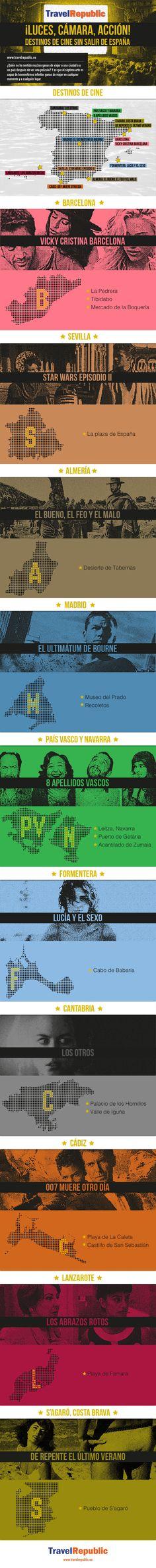 ¡Luces, cámara, acción! Destinos de cine sin salir de España